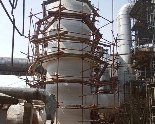 开工炉保温工程-铜陵有色冶炼集团金隆公司